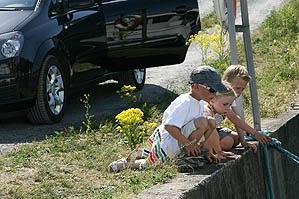 Hyppige pauser og barnvennlige overnattingssteder sikrer barna god bilferie